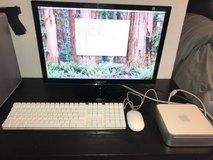 "MAC MINI complete set - incl. Bluetooth KB , mouse and monitor 22"" in Ramstein, Germany"