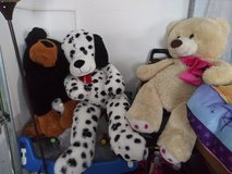 Life size stuffed animals in Fort Riley, Kansas