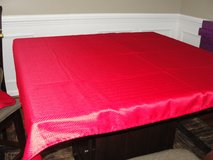 "RED TABLECLOTH 52"" X 69"" in Camp Lejeune, North Carolina"