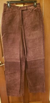 New Brown Suede Pants in Naperville, Illinois