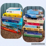 bundle of 18 jigsaw puzzles in Lakenheath, UK