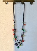 Colourful necklace in Fairfax, Virginia