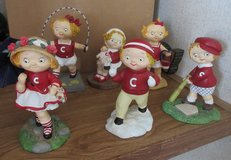 6 Campbell Soup Kids by Danburry Mint in Conroe, Texas