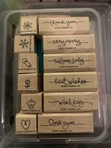 Stampin' Up 4-Rubber Stamp Sets in Aurora, Illinois