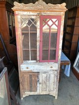 Antique Oak Country Cabinet / Pie Safe in Cherry Point, North Carolina