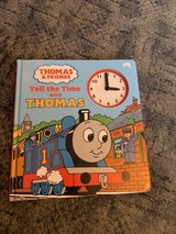 Thomas time book in Lakenheath, UK
