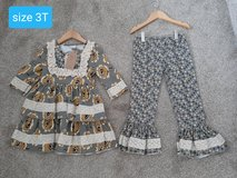 Girls size 3T brand new Boutique outfit in Morris, Illinois