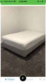 full size mattress, box spring and frame in Tomball, Texas