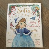 Like new! Hardcover Sofia the First, Holiday in Enchancia in Naperville, Illinois