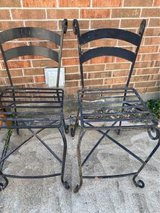 Iron chairs 4 total in Kingwood, Texas