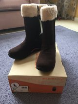 Kid Size 5 Merrell Boots in St. Charles, Illinois