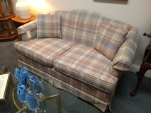 Plaid Loveseat in Chicago, Illinois