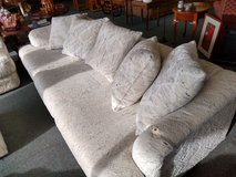 White Textured Sofa in Chicago, Illinois
