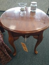 Oval Cherry End Table in St. Charles, Illinois