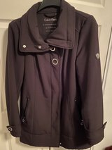 Calvin Klein all weather coat- Scuba gear material in Fort Knox, Kentucky