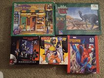 5 Puzzles 100 piece and others in Batavia, Illinois