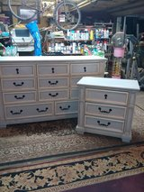 unique 11 drawer dresser & Matching Night stand in Conroe, Texas