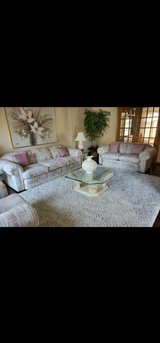 Furniture Set (3 couches 4 tables 1 painting) in Chicago, Illinois