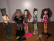 Monster High dolls Mattel in Stuttgart, GE