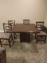 Ashley Counter Height Dining Table and 4 Barstools Set in Clarksville, Tennessee