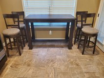 Ashley Drewing Bar Table & 4 Stools in Clarksville, Tennessee