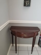 Entryway table with storage drawer in Chicago, Illinois