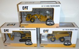 New! Cat Caterpillar 1:64 Diecast Tractor - Truck - Excavator Construction Toys in Bolingbrook, Illinois