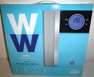 New! Conair Weight Watchers WW712XF Glass Body Analysis Scale - 400lb capacity in Wheaton, Illinois