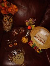 Thanksgiving decor lot in The Woodlands, Texas