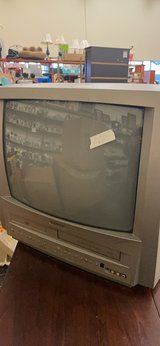 TV with DVD and VHS in Fort Leonard Wood, Missouri