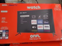 42 in roku hd smart tv new in box in Colorado Springs, Colorado