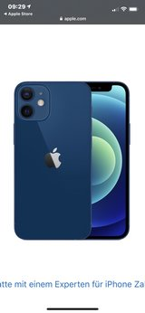 iPhone 12 Mini 256gb pacific blue in Ramstein, Germany