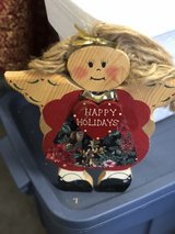 Happy Holidays Angel in Ramstein, Germany