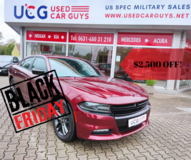 2019 Dodge Charger SXT - Black Friday Special in Ramstein, Germany