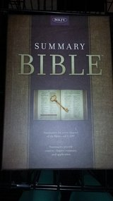 Summary Bible, KJV Edition Charcoal Cloth Over Board in Moody AFB, Georgia