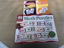 Math Flash Cards and Matching Game in Bartlett, Illinois