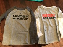 Boys LS Nike/Under Armour.  Size 4T.  Lot 130 in Bolingbrook, Illinois