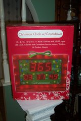 christmas clock with countdown in Kingwood, Texas
