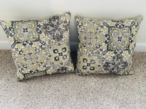 2 Throw Pillows in Bolingbrook, Illinois