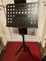 music stand in Ramstein, Germany