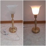 Desk lamp/ night stand lamp tulip shape shade 230V in Ramstein, Germany