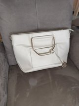beige cream purse with gold handles in Ramstein, Germany