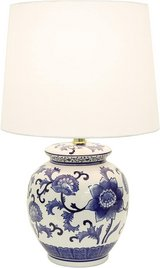 Décor Therapy TL14119 Blue and White Ceramic Table Lamp - New! in Joliet, Illinois