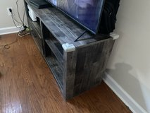 TV Stand Grey in Wilmington, North Carolina