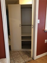 IKEA wardrobe closet storage in Conroe, Texas