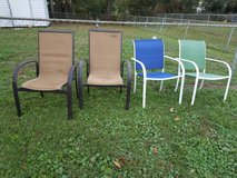 Lawn chairs in Beaufort, South Carolina