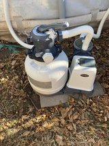 INTEX SAND FILTER 2800 GPH, UNDERWATER VACUUM AND EXTRAS in Fort Riley, Kansas