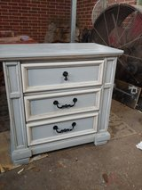 I Refurbished This 3 Drawer Night stand. All wood. Shabby Chic in Conroe, Texas
