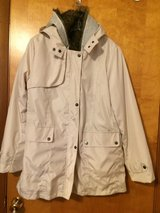 NEW JACKET w/FAUX FUR LINING - HOOD/ZIPPER FRONT - SIZE LARGE in Yorkville, Illinois