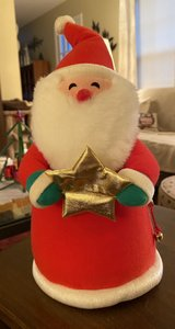 Vintage Cloth Santa in St. Charles, Illinois